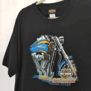 Harley-Davidson Motorcycle Black T-Shirt Hog